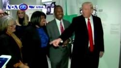 """Ông Trump hứa hàn gắn một nước Mỹ """"chia rẽ"""" (VOA60)"""