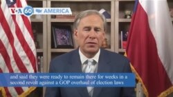 VOA60 Ameerikaa - Texas Democrats Leave State to Try to Stop GOP Voting Bill