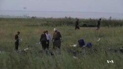 ادامه تحقیقات درباره سقوط هواپیمای مالزیایی در شرق اوکراین