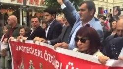Dışarıdaki Gazeteciler: 'Hemen Şimdi Adalet'