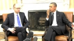 Obama Hosts Ukrainian Prime Minister in Signal to Russia