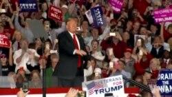 美国两党在中期选举最后一天争取支持