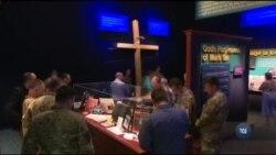 Як група українських військових священників тренується у США. Відео