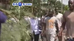 VOA60 AFIRKA: Ana Zanga Zangar Nuna Rashin Amincewa Da Hukumar Zabe A Kenya