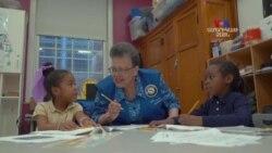 Ամերիկյան մի շարք դպրոցներում թոշակառուները կամավորական աշխատանքներ են կատարում