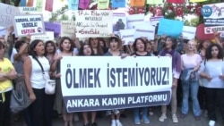 Ankara Kadın Platformu'ndan Emine Bulut Protestosu