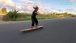 Скейтбордистка, школьница и просто олимпийская надежда США