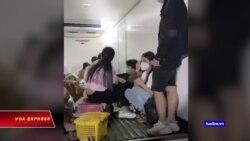 Phát hiện 15 người trốn trong thùng xe tải để 'thông chốt' về quê