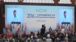 G-20能源會議在北京開幕