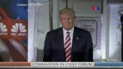Argumentos de Clinton y Trump para ser comandante en jefe