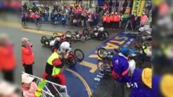 Boston Marathon Wheelchair Race