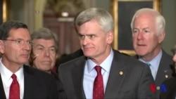 Senatdagi respublikachilar va Tramp