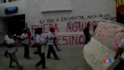 2014-10-15 美國之音視頻新聞: 墨西哥數十學生失蹤命案疑涉警匪勾結