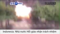 IS nhận trách nhiệm vụ tấn công ở Indonesia (VOA60)