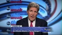 Kerry Blasts Hamas, Pro-Russia Rebels in Ukraine