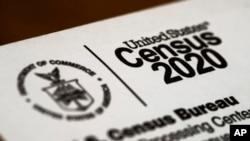 Foto amplop Sensus AS 2020 yang dikirim ke warga Glenside, Pennsylvania, 19 Maret 2020.