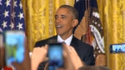 Obama Heckled at White House Gay Pride Event