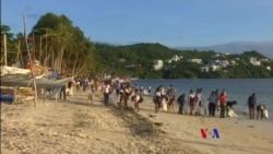2018-04-27 美國之音視頻新聞: 菲律賓政府封閉長灘島進行清理