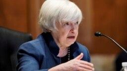 ARHIVA - Američka sekretarka za finansije Dženet Jelen (Foto:AP/Evan Vucci)
