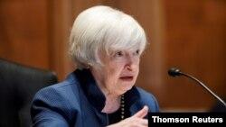 На фото: Міністерка фінансів США Джанет Єллен