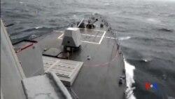 2015-10-28 美國之音視頻新聞: 美國將繼續在南中國海島礁附近巡航