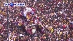 Người Công giáo Philippines rước tượng Chúa Jesus hàng trăm năm tuổi