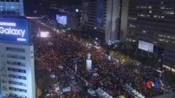 2017-02-27 美國之音視頻新聞: 南韓總統朴槿惠彈劾案進入最後階段 (粵語)