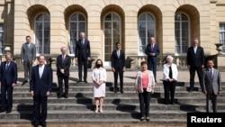 Foto në grup e ministrave të financave