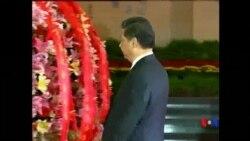 2014-09-03 美國之音視頻新聞: 中國高層官員紀念抗日戰爭勝利69週年