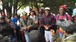 Ukutshengisela Kwezifundi eSouth Africa Kwethusa Izizalwane zeZimbabwe