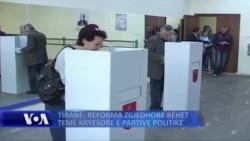 Tiranë: Opozita hedh hapat e saj për reformën zgjedhore