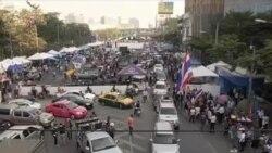 泰國反政府抗議者不承認選舉