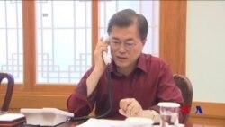 川普與文在寅通話譴責北韓再射導彈