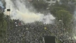 巴西總統的懇求未能結束大眾抗議
