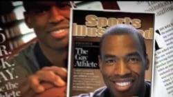"""2013-04-30 美國之音視頻新聞: NBA球員科林斯宣布""""出櫃"""""""
