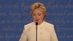 Clinton: Amazed Trump thinks Iraqi government taking Mosul to benefit her