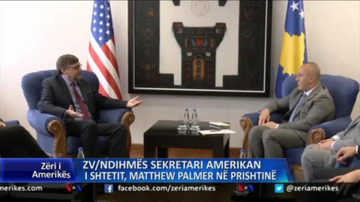 Diplomacia amerikane zbret në Prishtinë