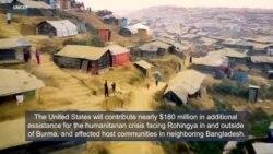 More U.S. Aid for the Rohingya Refugee Crisis