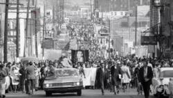 马丁·路德·金遇刺50周年 首都华盛顿的变迁