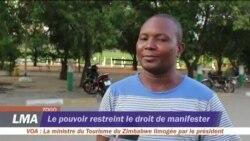 Le pouvoir restreint le droit de manifester au Togo