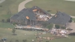 Estragos de los tornados