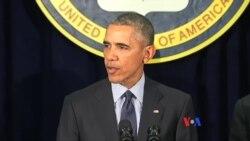 奧巴馬指美國領導的聯軍處於攻勢 伊斯蘭國處於守勢