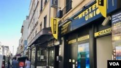 Ibiro vya Western Union i Montreiuil mu Bufaransa