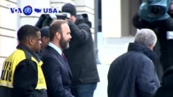 VOA60 America -Longtime Manafort Deputy Rick Gates Admits Embezzlement