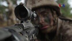 Người nữ quân nhân mở ra một chương mới cho Thủy quân lục chiến Hoa Kỳ