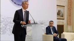 Генеральный секретарь НАТО пообещал Грузии помощь альянса
