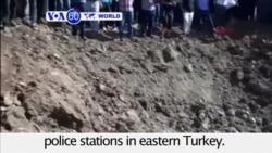 VOA60 World - At Least Six Dead in Twin Car Bomb Attacks in Turkey