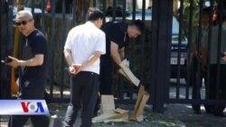 Nổ bom tự chế bên ngoài Ðại sứ quán Mỹ ở Bắc Kinh