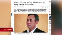 Cục trưởng môi trường Việt Nam bị cách chức vì vụ Formosa