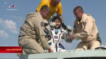 Đoàn thám hiểm vũ trụ 59 hạ cánh an toàn